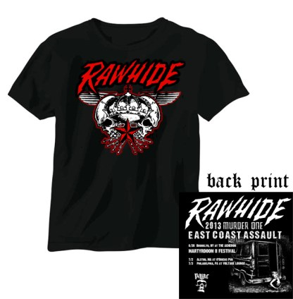 Rawhide 'Murder One US Tour' T-Shirt
