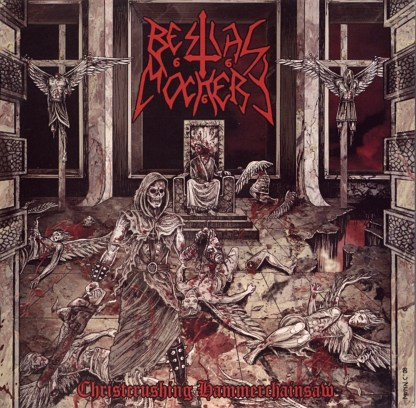 Bestial Mockery 'Christcrushing Hammerchainsaw' vinyl LP