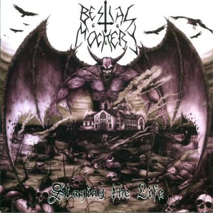 Bestial Mockery - Slaying the Life LP (splatter vinyl)