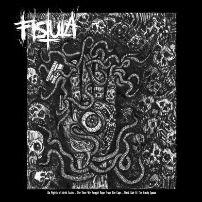 "Fistula/Radiation Sickness 'Split' 12"" Vinyl LP"