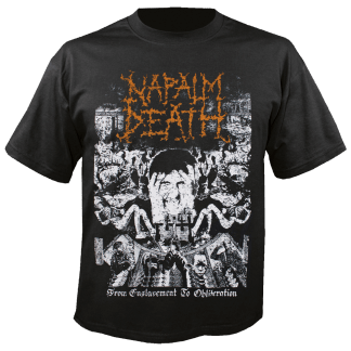 Napalm Death 'From Enslavement To Obliteration' T-Shirt