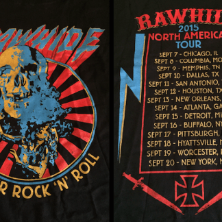 RAWHIDE - 2015 USA Tour T-Shirt
