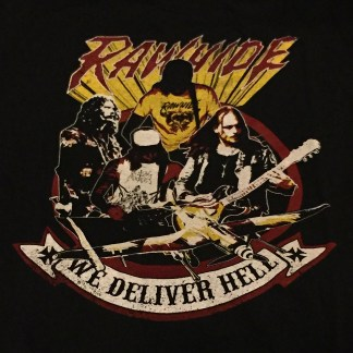 Rawhide - We Deliver Hell: T-Shirt (import)