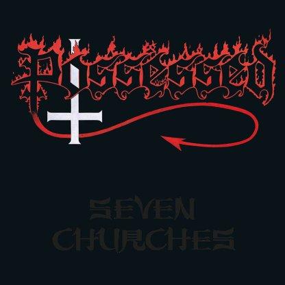 Possessed - Seven Churches LP (clear/red splatter vinyl)