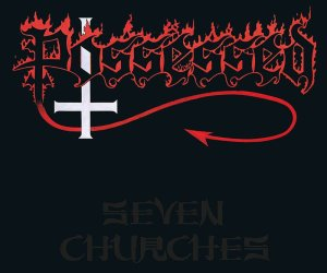 Possessed - Seven Churches LP (clear/red splatter vinyl)
