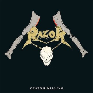 Razor - Custom Killing LP (silver vinyl)