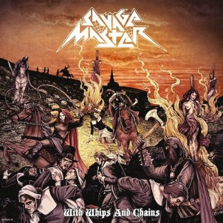 Savage Master - With Whips and Chains LP (yellow vinyl) HOOKERS