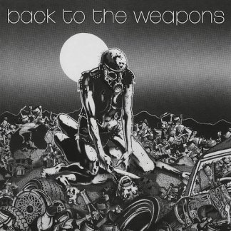 Living Death - Back To The Weapons LP (splatter vinyl)