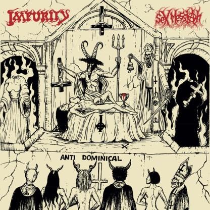 Impurity / Sex Messiah - Vomiting Blasphemies Over The World LP