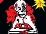 Acid - Hooked On Metal LP (yellow vinyl)