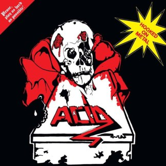 Acid - Hooked On Metal LP (yellow vinyl)