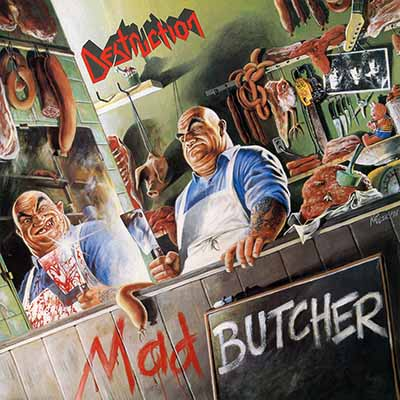 Destruction mad butcher lp green vinyl patac records destruction malvernweather Gallery