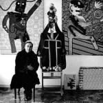 Enrico Baj in un ritratto di Erling Mandelmann (1964)