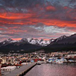 Ushuaia, una de las localidades para hacer el recorrido virtual de Tierra del Fuego