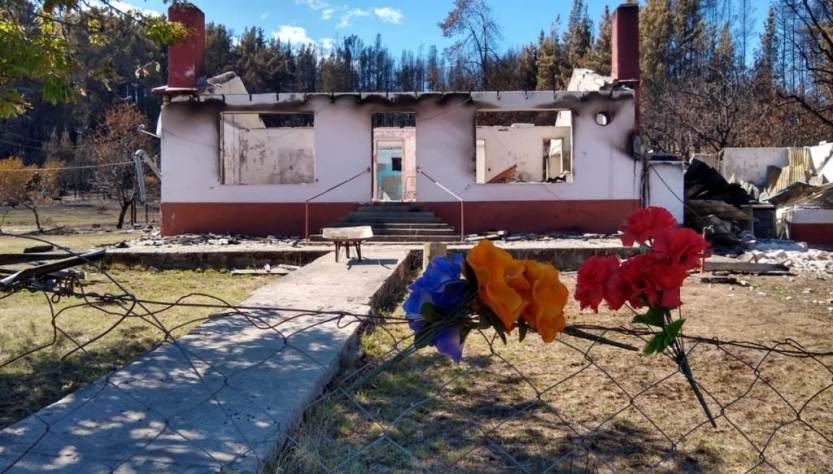 Después de los incendios en la Comarca.