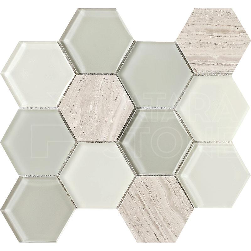park madison 3 inch hexagon blend