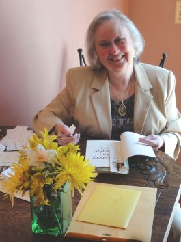 Pat Camalliere at Book Release Party April 26, 2015, The Inn at Smokey Row