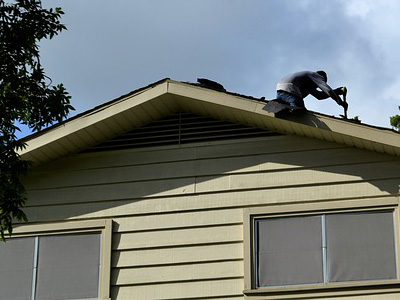 selling home - repair siding and roofing
