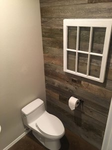 Portland wood feature wall