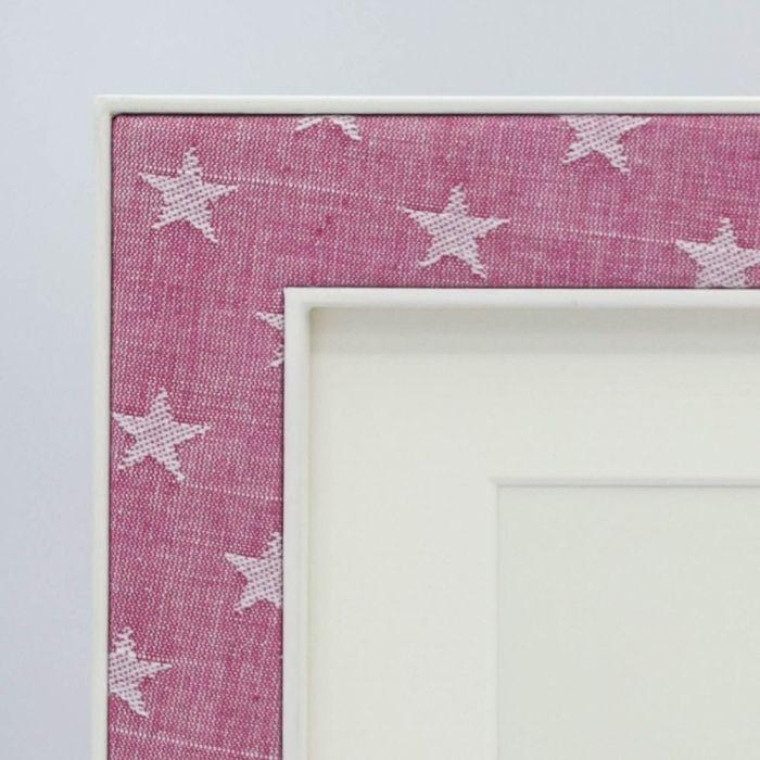 Ella Pink Stars Corner Sample