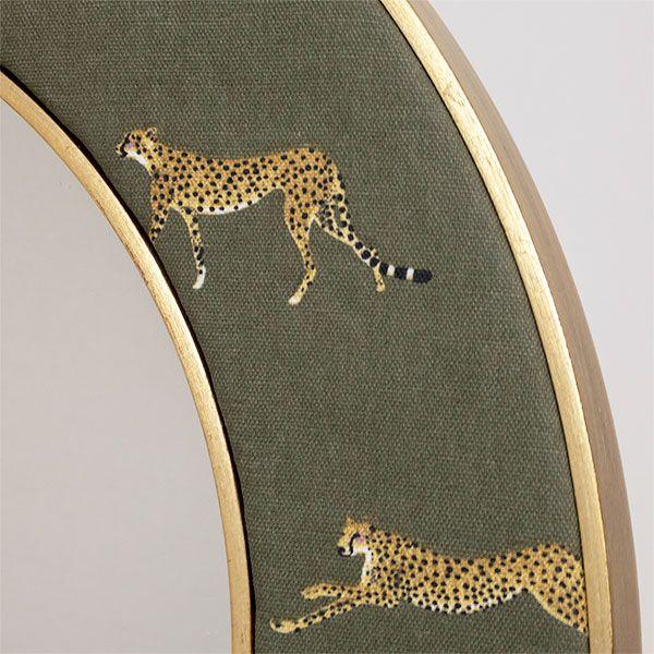 Cheetah Fabric Close Up