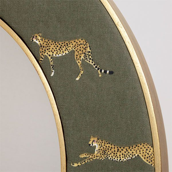 Cheetah Fabric Close Up