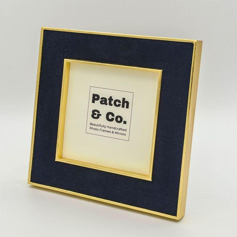Patrick Navy Photo Frame in 5x5