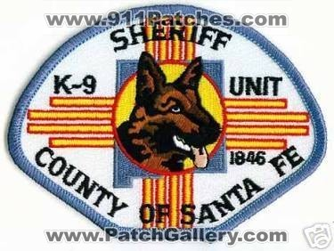 New Mexico Santa Fe County Sheriff39s Department K9 Unit