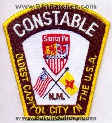 New Mexico Santa Fe Constable PatchGallerycom Online