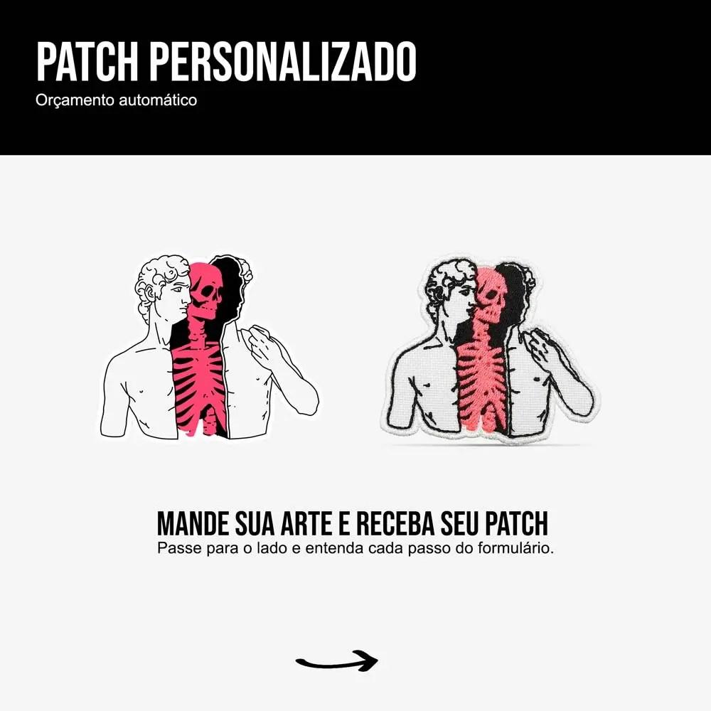 Patch Personalizado - Instruções Cores