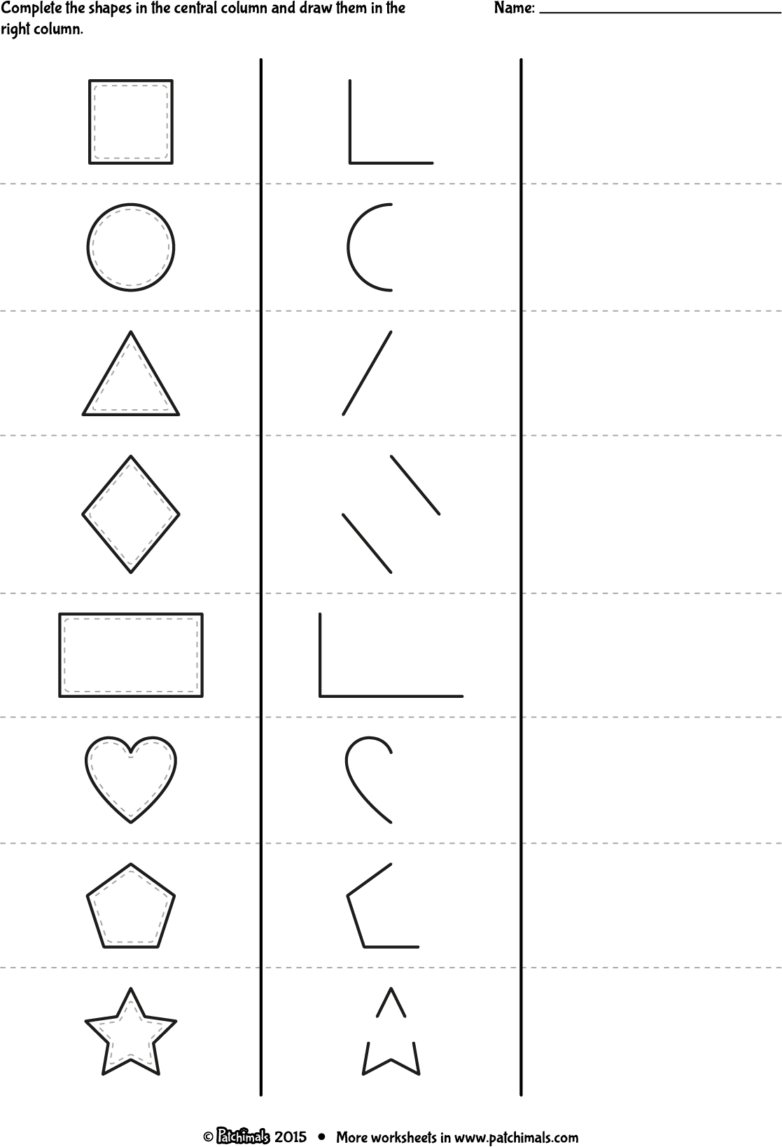 Printable Worksheets Coloring Square D Coloring Pages