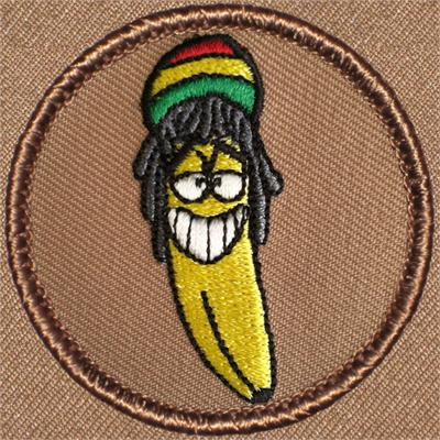 Rasta Banana Patrol Patch 495