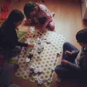 Weihnachtsvorbereitungen Murmelbahn