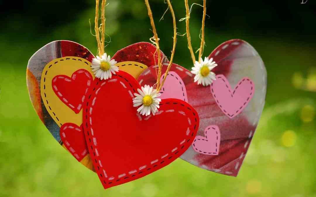 Sprache der Liebe Herzen