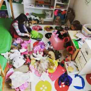 Raclette Kinderzimmer