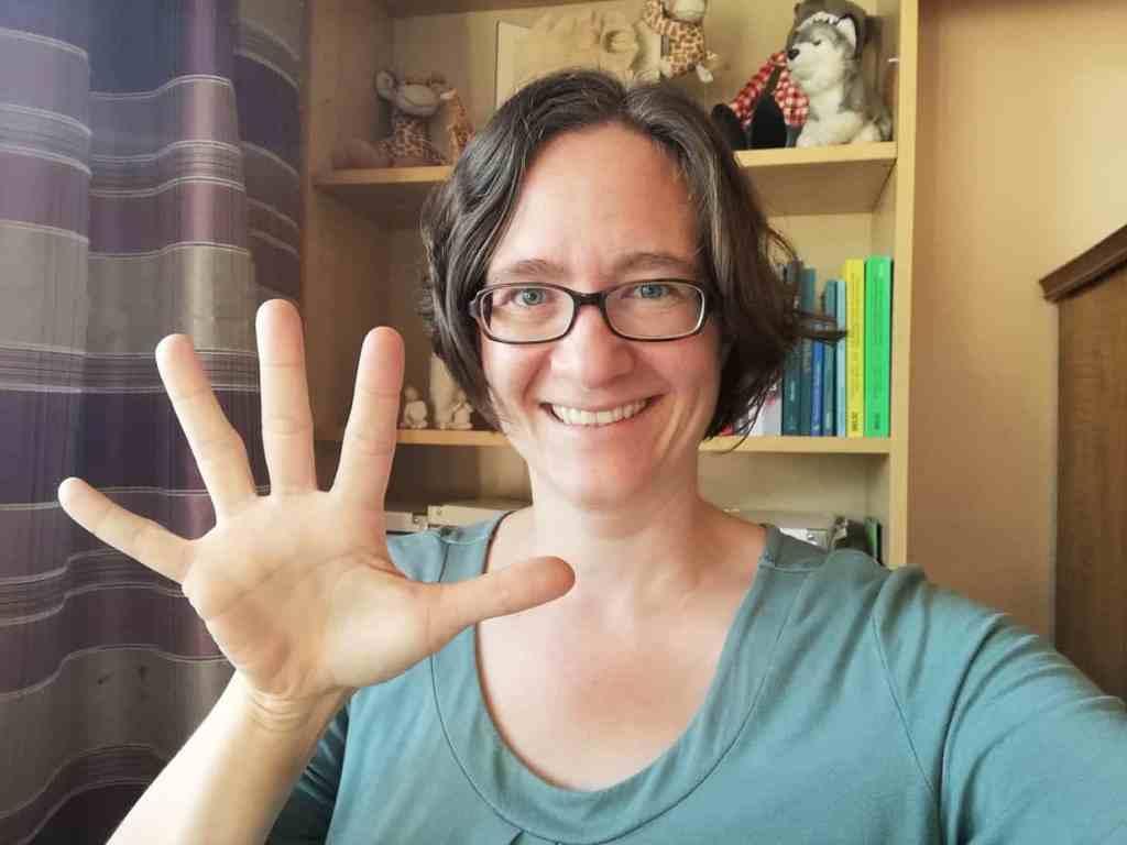 5 Finger 5 Fragen für mehr Verbindung
