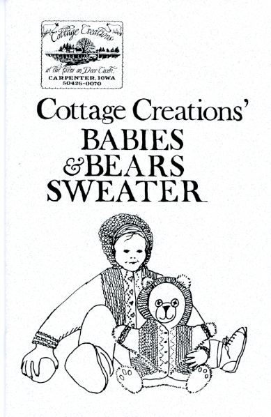 Cottage Creations Knitting Patterns by Carol Anderson