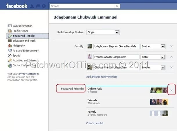 How To Hide Your Facebook Friends List