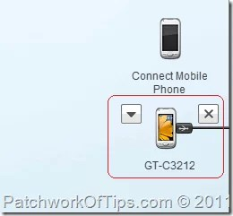 How to connect your phone to samsung pc studio