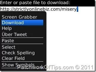 How To Download Large Files With PodTrapper For BlackBerry