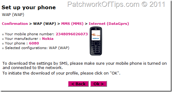 How To Send Airtel WAP/MMS/Internet Settings Straight To Your Phone