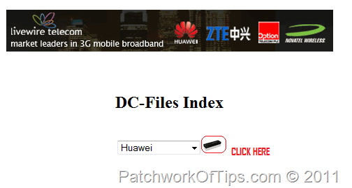 How To Flash/Upgrade Huawei USB Internet Modem Firmware