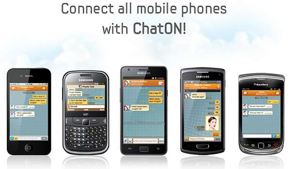 Download Samsung ChatON Messenger for Android, Blackberry, iOS, and BadaOS
