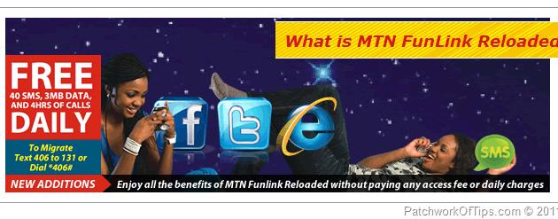 MTN FunLink Reloaded Tariff Plan