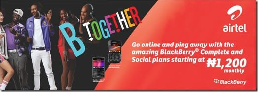 Airtel Nigeria BlackBerry Plans For Use On Computers