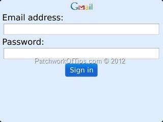 Gmail App For BlackBerry