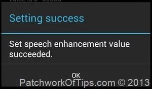 Android Audio Speech Enhancement Set
