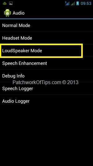 Android Engineering Mode Menu