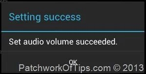 Set LoudSpeaker Volume On Android