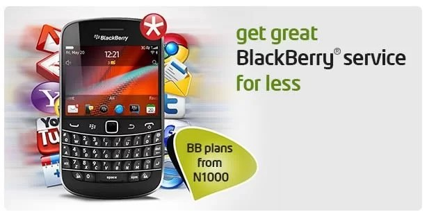 Etisalat Nigeria Launches BlackBerry Unlimited Data and Emails Plan